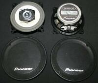"Pioneer TS-A1057 2 Way 4"" 100 Watt Car Speakers with Grills"