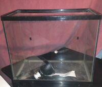 25 Gallon Aquarium with light