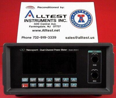 Newport 2832-c Dual Channel Optical Power Meter