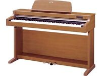 **WANTED** digital piano in light oak finish