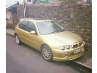 MG ZR GOLD £250