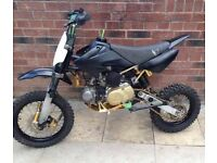 140cc pit bike STOMP demonX