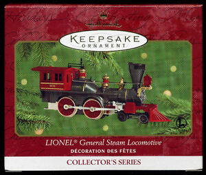 Hallmark Keepsake Lionel General Steam Locomotive