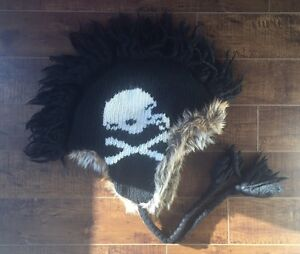 Adult One Sz. (S/M fit) American Eagle MohawkTrapper Hat. $6.00