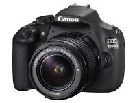 EOS 1200D DSLR camera 18-55 mm f/3.5-5.6 Zoom Lens