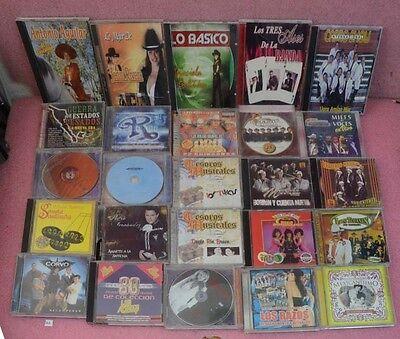 25 CD Lot_Antonia Aguilar_Jenni Rivera_Pedro Fernandez_Conjunto Primavera.