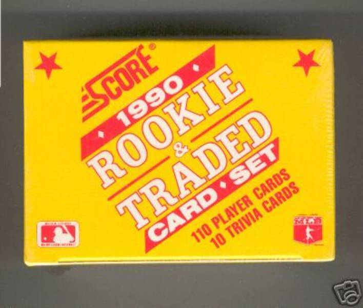 1990 SCORE .... ROOKIE & TRADED Set .... 110 Baseball