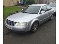 Volkswagen Passat 1.9 tdi 130bhp 2004/2005 6 Speed Manual