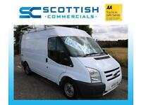 2009 FORT TRANSIT MWB *NO VAT* 90 THOUSAND MILES ROOF RACK PLY LINED YEARS MOT
