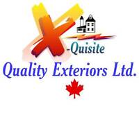 Viny Siding  Soffits, fascia window cladding - X-Quisite