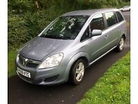 VAUXHALL ZAFIRA EXCLUSIVE 1.6 2010 JUST HAD NEW CLUTCH STARTS AND RUNS EXCELLENT