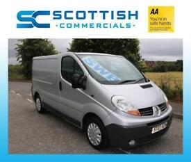 2007 RENAULT TRAFIC GREAT CONDITION *NO VAT* SILVER FRESHLY WOOD LINED Vivaro