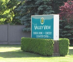 BURIAL PLOT - VALLEY VIEW CEMETERY - SURREY BC
