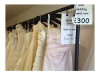 Wedding gowns closing down sale size 10-22