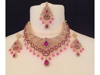 Necklace SET with head piece