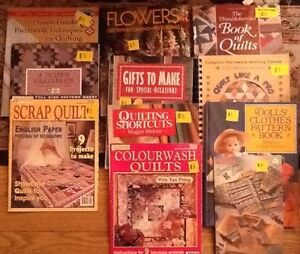 QUILTING BOOKS/MAGs/Doll Clothes/Stuffed toys/Crafts West Island Greater Montréal image 7