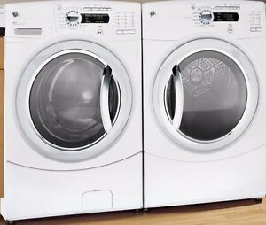 GE AVC Laveuse Secheuse Frontale STEAM  Washer Dryer