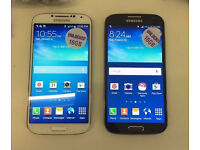 SAMSUNG S4 16GB UNLOCKED AS NEW CONDTION WITH RECEIPT AND WARRANTY