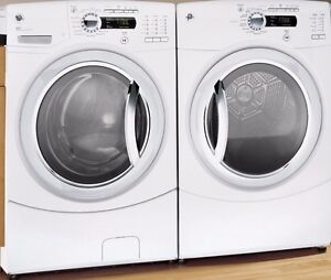 GE AVC STEAM Laveuse Secheuse Frontale Washer Dryer