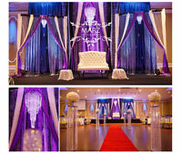 MARZ Wedding Decor & Rentals, Centerpieces, DIY Backdrops $200