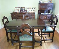 Anthes Baetz Dining Set, Hutch & Buffet