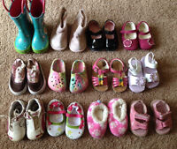 Girls size 3-4 shoes