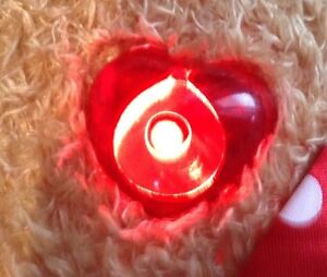 Build a Bear Rudolph Red Nose Reindeer Girl Friend Clarice Light London Ontario image 2