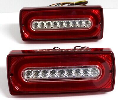 LED Rückleuchten DYNAMIC BLINKER  für Mercedes W463 LIGHT BAR NEU