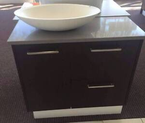 Local made wall hung vanity with stone top North Parramatta Parramatta Area Preview