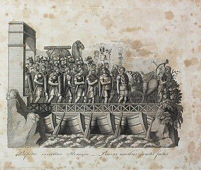 Rom Legionär Legion Einschiffung Hornist Kamel Standarte Streitwagen Signum