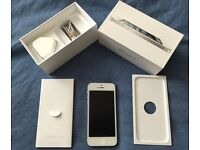 Apple iphone 5 16gb white/silver (unlocked)