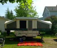 2006 Rockwood Hardtop Trailer 8ft Box Great Shape !!