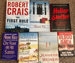 Books for sale - Various authors & genres - $5 each