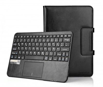 """SonnyGoldTech - Android Tablet Pc 9.6""""-10.1"""" Bluetooth Touchpad Tastatur Hülle"""