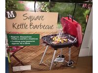 Square small barbecue