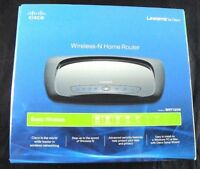 NEW ...Linksys by Cisco: Wireless-N Home Router (E4)