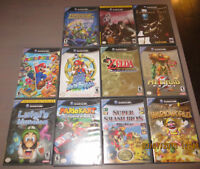 JEUX NINTENDO GAMECUBE,MARIO PARTY 7-ZELDA-PIKMIN-ETC