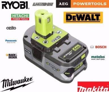 Wanted: Dead,Faulty & Unwanted 18v or 36v Lithium Batteries