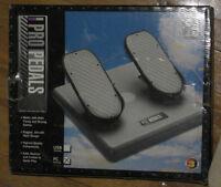 Pédales pour Flight Simulator CH Products Pro Pedals PC