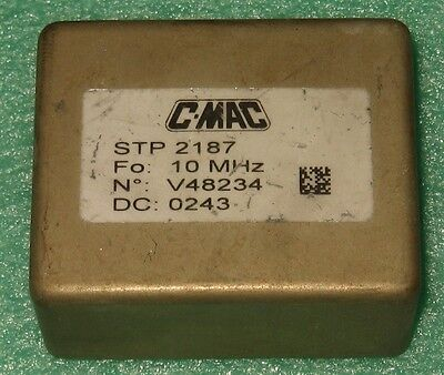 C-mac Stp2187 Sine Wave 10 Mhz Double Oven Ocxo Oscillator 12v Efc Easy Kit