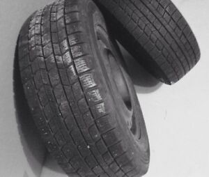 EXCELLENT CONDITION WINTER TIRES WITH RIMS FOR HONDA CIVIC