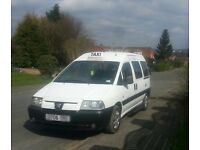 2006 PEUGEOT EXPERT e7 HACKNEY TAXI WHEELCHAIR ACCESSIBLE FULL M1 SPEC
