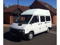 Campervan. Low mileage and 11 months MOT.