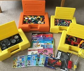 Four large K'NEX boxes full of lots of Creative construction