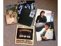 A selection of collectable vinyl records
