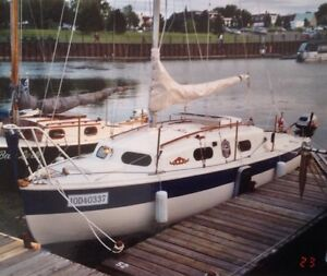 Voilier Kingfisher 21 pieds (voilier Anglais)