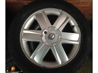 "16"" Renault Alloys (4 New Tyres 205/55r16) Megane Clio Scenic"