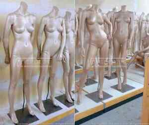 HAUTE COUTURE MANNEQUINS COMPLET - HIGH FASHION FULL MANNEQUIN