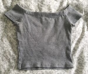 SELLING: Zara cropped off the shoulder top Strathcona County Edmonton Area image 1