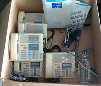 Meridian Norstar 3X8 unit with 5 phones